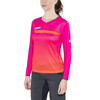 Bioracer Enduro Bike Jersey Shortsleeve Women orange/pink